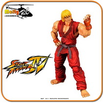 Street Fighter Ken Ssf4 Play Arts Kai Square Enix