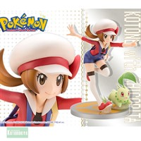 KOTOBUKIYA POKEMON KOTONE WITH CHICORITA ARTFX