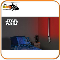 Luminaria 3D Light Star Wars Sabre de Luz Darth Vader com LED