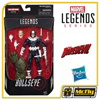 MARVEL LEGENDS BULLSEYE  BAF MAN-THING Daredevil