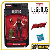 MARVEL LEGENDS ELEKTRA BAF MAN THING Daredevil(CAIXA AMASSADA)