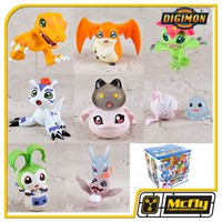 MEGAHOUSE DIGIMON DATA 1 Agumon, Patamon, Palmon, Botamon & Koromon