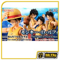 MEGAHOUSE VARIABLE MONKEY D. LUFFY PAST BLUE ONE PIECE