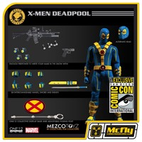 MEZCO ONE:12 DEADPOOL X-MEN SDCC 2017
