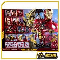 Hot Toys Iron Man Mark IV with Suit-Up Gantry MMS462 - D22