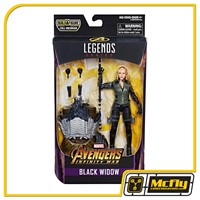 Marvel Legends Black Widow Avengers Infinity War Obsidian