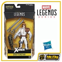 Marvel Legends Serie X-men Shatterstar Wave 2 Baf Warlock