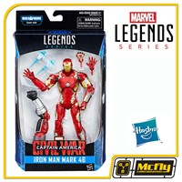 Marvel Legends Series Iron Man Mark 46 Civil War Hasbro