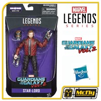 Marvel Legends Series Star Lord Guardians Of The Galaxy Vol 2 Hasbro