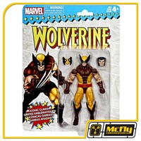 Marvel Legends Wolverine Vintage Cartela