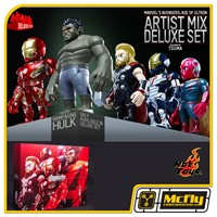 Hot Toys AVENGERS: AGE OF ULTRON ARTIST MIX DELUXE SET AMC009-AMC013