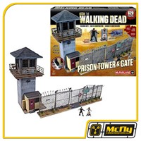 McFarlane The Walking Dead Prison Tower e Gate