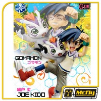 Megahouse Digimon Joe kido e Gomamon G.E.M