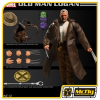 Mezco Old Man Logan one 12 Wolverine