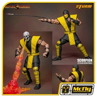 Mortal Kombat Scorpion Storm Collectibles 1 12 Action Figure