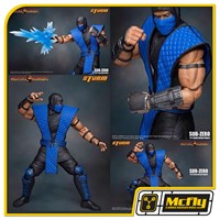 Mortal Kombat Sub Zero Storm Collectibles 1/12 Action Figure
