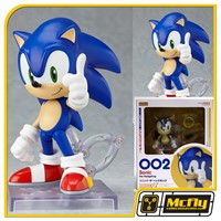 Nendoroid 002 Sonic The Hedgehog GoodSmile ORIGINAL