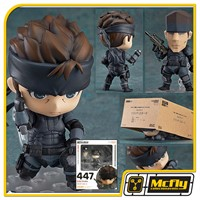 Nendoroid 447 Solid Snake Metal Gear Solid Goodsmile