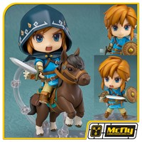 Nendoroid 733-DX Link Breath of the Wild Ver DX Edition de Zelda (CAIXA AMASSADA)