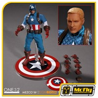 ONE 12 COLLECTIVE Captain America Mezco Toyz Capitao America