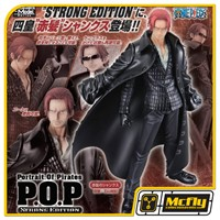 One Piece POP Portrait Of Pirates Shanks Strong Editio Excellent Model P.O.P