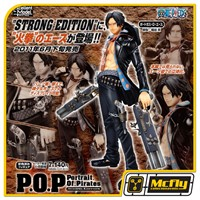 One Piece Strong Editon Ace POP Portrait Of Pirates Megahouse P.O.P