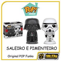 Funko Saleiro e Pimenteiro POP! SALT E PEPPER Darth Vader e Stormtrooper Star Wars