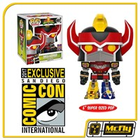 POP Funko Megazord 497 SDCC 2017 Power Rangers