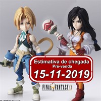 (RESERVA 10% DO VALOR) Bring Arts Final Fantasy IX Zidane & Garnet Til Alexandros