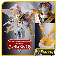 (RESERVA 10% DO VALOR)Digimon Holy Angemon Digivolving Spirits Bandai