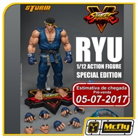 (RESERVA 10% DO VALOR)Street fighter V Ryu Blue Special Edition Storm Collectibles