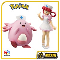 Pokemon Johi e Lucky Megahouse Enfermeira Joy e Chansey