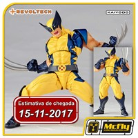 (RESERVA 10% DO VALOR) Revoltech Wolverine X-Men