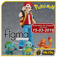 (RESERVA 10% DO VALOR)Figma 356 Pokemon Red Bulbasaur Charmander Squirtle