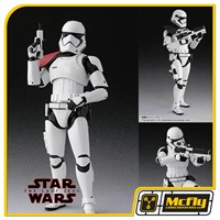 S.H FIGUARTS FIRST ORDER STORMTROOPER THE LAST JEDI SPECIAL SET