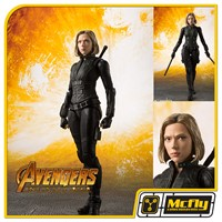 S.H Figuarts Black Widow Avengers Infinity War