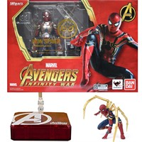 S.H Figuarts IRON SPIDER MAN TAMASHII STAGE AVENGERS INFINITY WAR