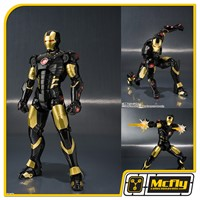 S.H Figuarts Iron Man Mark III Exibition Color Age Of Heroes