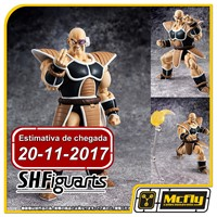 (Reserva 10% do Valor) S.H Figuarts Nappa Dragon Ball Z 20/11/2017