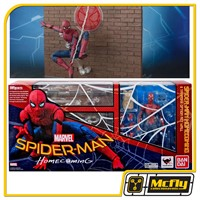 S.H Figuarts Spider Man Homecoming Tamashii Option ACT WALL