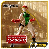 (RESERVA 10% DO VALOR) S.H Figuarts Street Fighter Cammy 15/10/2017
