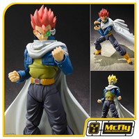 S.H Figuarts TP Patrulha do Tempo Dragon Ball Xenoverse Time Patroller