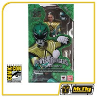 SDCC 2018 Exclusive Tamashii Nations Figuarts Green Power Ranger