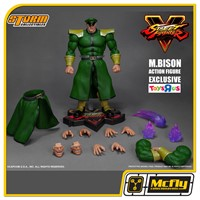 STREET FIGHTER STORM COLLECTIBLE BISON SPECIAL EDITION