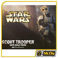 Sideshow Star Wars Scout Trooper Sixt Scale 1/6