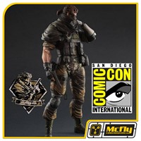 Play Arts Kai Metal Gear Solid V The Phantom Pain Venom Snake Splitter SDCC 2015