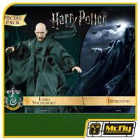 Star Ace Harry Potter Voldemort with Dementor Twin Pack 1/8 Figure