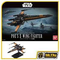 Star Wars Poes X-Wing Fighter Model Kit Bandai 1/72