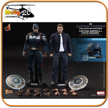 The Winter soldier CAPTAIN AMERICA & STEVE ROGERS MMS243 1/6