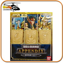 Cloth Myth Appendix GOLD CLOTH BOX VOL. 4 Bandai Pandora BOX